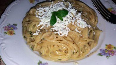 Photo of Spaghete cu branza si marar