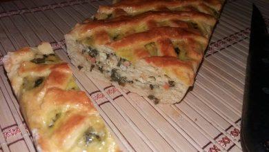 Photo of Tarta cu spanac si telemea cu aluat de casa
