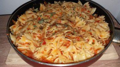 Photo of Paste cu sos arrabiata