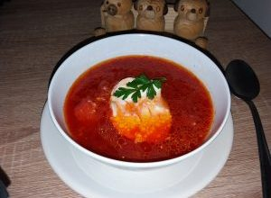 Photo of Bors rusesc cu sfecla rosie