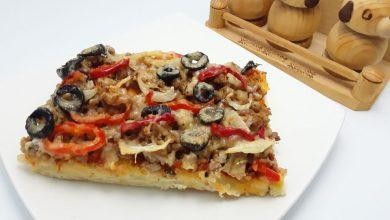Photo of Pizza cu carne tocata si oregano