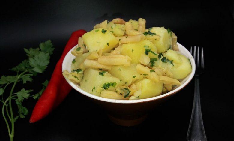 Photo of Salata calda de cartofi cu pastai