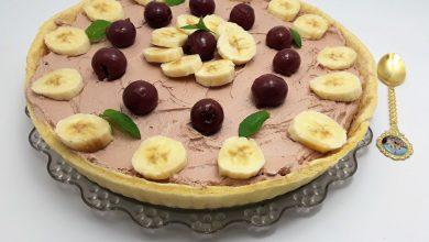 Photo of Tarta cu fructe si crema de ciocolata