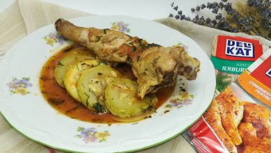 Photo of Mancare de dovlecei cu carne de pui