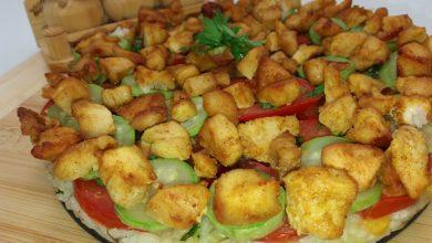 Photo of Tort de orez cu legume si piept de pui