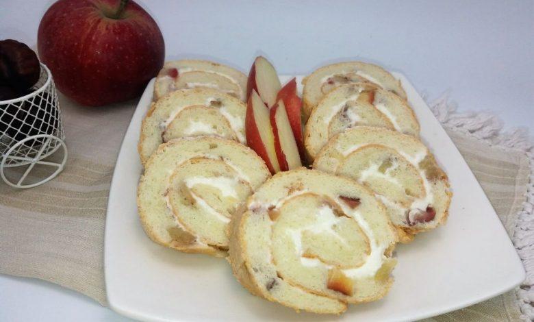 Photo of Rulada din albusuri cu mere si crema de branza