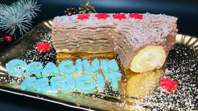 Photo of Tort Buturuga de Craciun sau Bûche de Noël