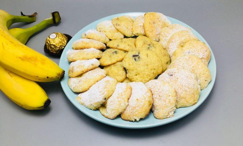 Photo of Biscuiti cu banane si ciocolata