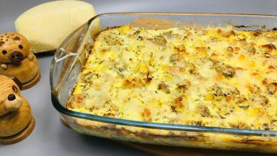 Photo of Budinca de pui cu cartofi si ciuperci