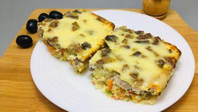 Photo of Budinca la cuptor cu carne de porc si legume