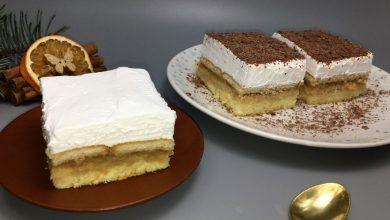 Photo of Prajitura rapida cu mere si crema de branza