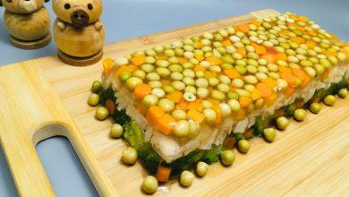Photo of Pui cu legume in aspic