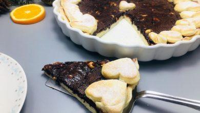 Photo of Tarta cu ciocolata, arahide si portocala