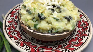 Photo of Salata de cartofi cu ceapa verde