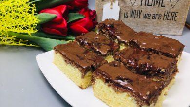 Photo of Prajitura Zi si Noapte cu glazura de ciocolata