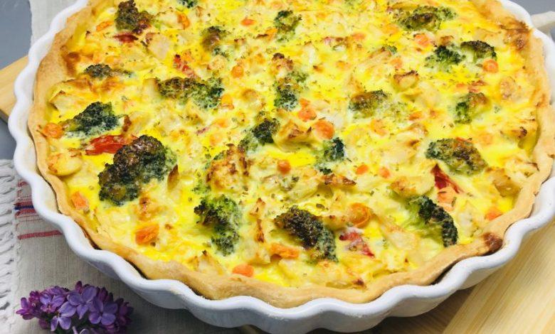 Photo of Tarta cu piept de pui si broccoli