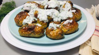 Photo of Cartofi noi cu marar si sos tzatziki