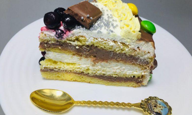Photo of Tort Skittles cu crema de ciocolata