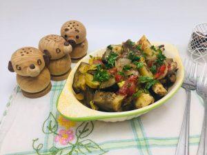 Briam- ghiveci de legume in stil grecesc