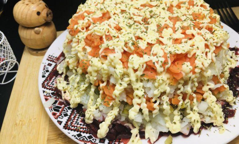 Photo of Salata in straturi cu legume