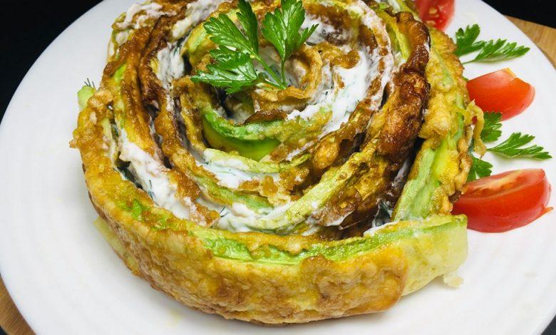 Photo of Rulou din dovlecei cu sos de usturoi