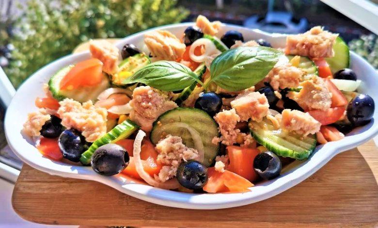 Photo of Salata de ton cu legume