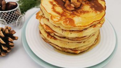 Photo of Pancakes- clatite americane cu banane